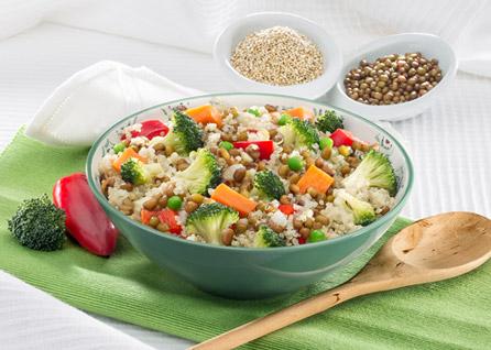 salteado quinoa