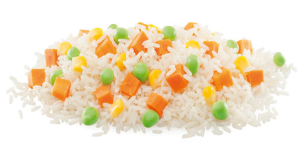 arroz mix congelado