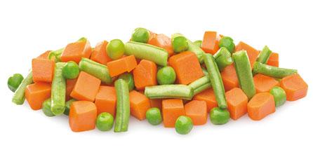 mezcla de verduras jardineira