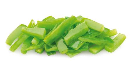 Pimiento verde prefrito