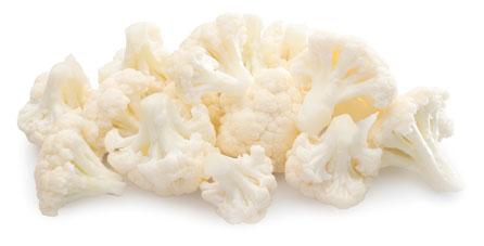 coliflor congelado