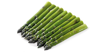 esparrago verde congelado