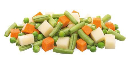 mezcla de verduras macedonia