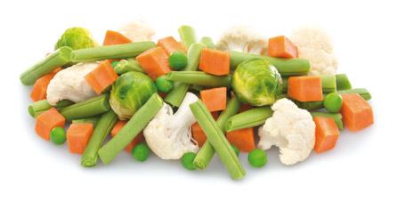 mezcla de verduras menestra