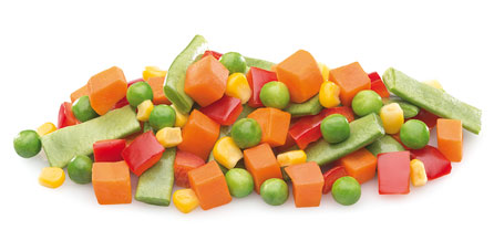 mezcla de verduras mexicana congelada