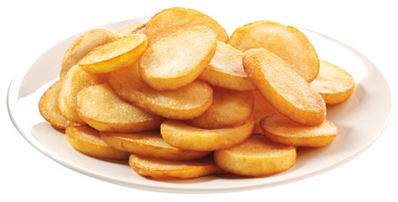 patata frita rodajas