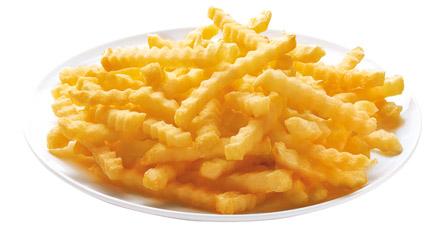 patata congelada ondulada