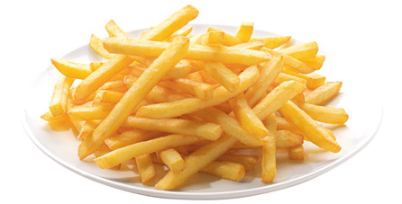 patata frita fina congelada