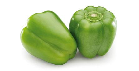 pimiento verde congelado