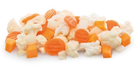 verduras congeladas para sopa
